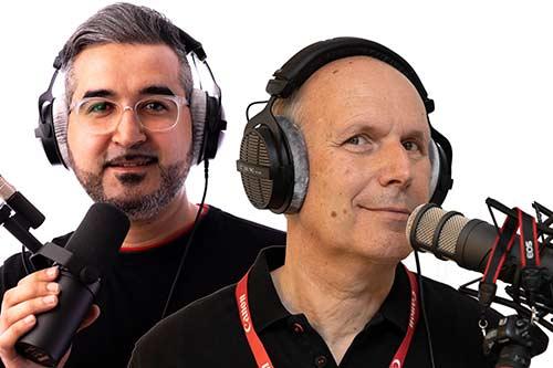 Olaf Franke und Mustafa Morad im Portrait