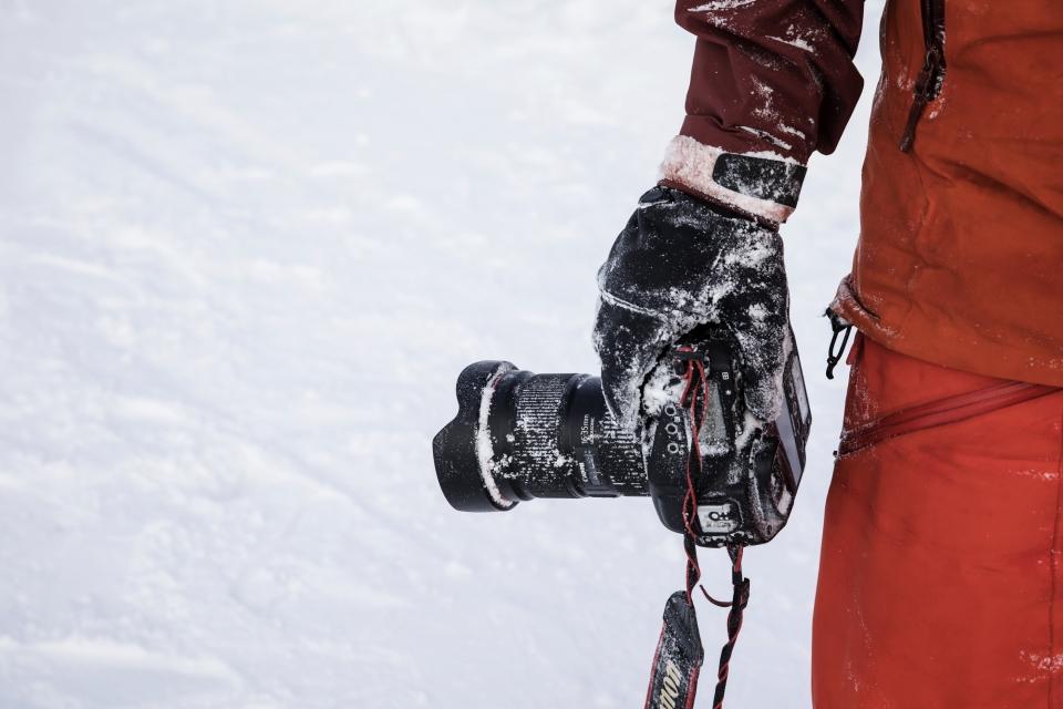 Richard Walch, Kälte, Schnee, robuste Kamera, Fotografieren im Winter