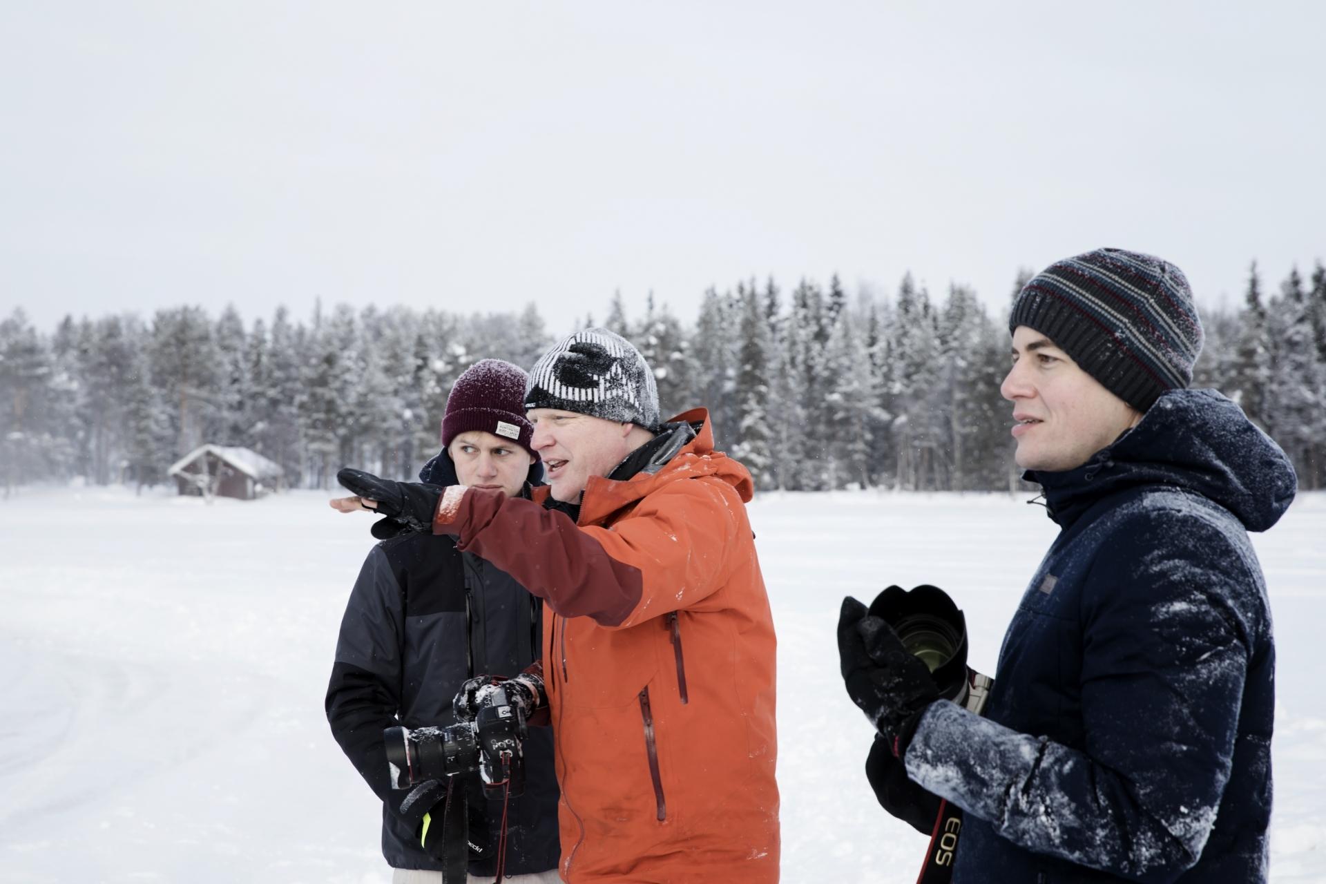 Richard Walch, Winter, Fotografie, Schnee
