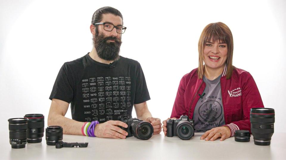 Das EOS R-System: Zwei Kameras, ein System - Canon Academy Talks